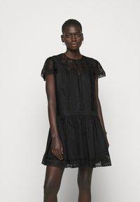 TWINSET - ABITO CON SOTTOVESTE  - Day dress - nero - 0