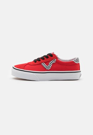 SPORT UNISEX - Sneakersy niskie - high risk red/true white