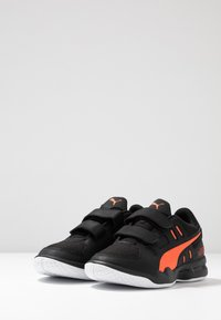 Puma - AURIZ - Sports shoes - black/nrgy red/white - 2
