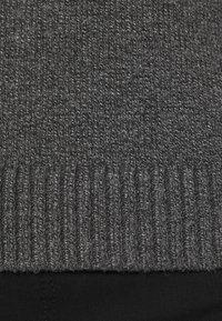Banana Republic - DOORBUSTER FUNNEL NECK SOLIDS - Jumper - dark grey - 6
