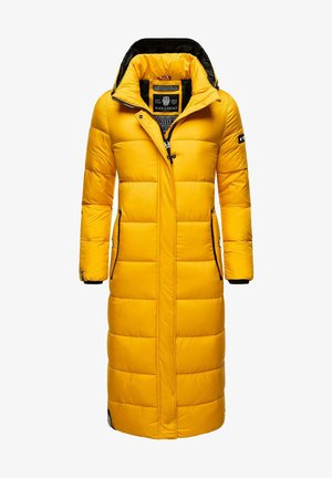 Winter coat - dark yellow