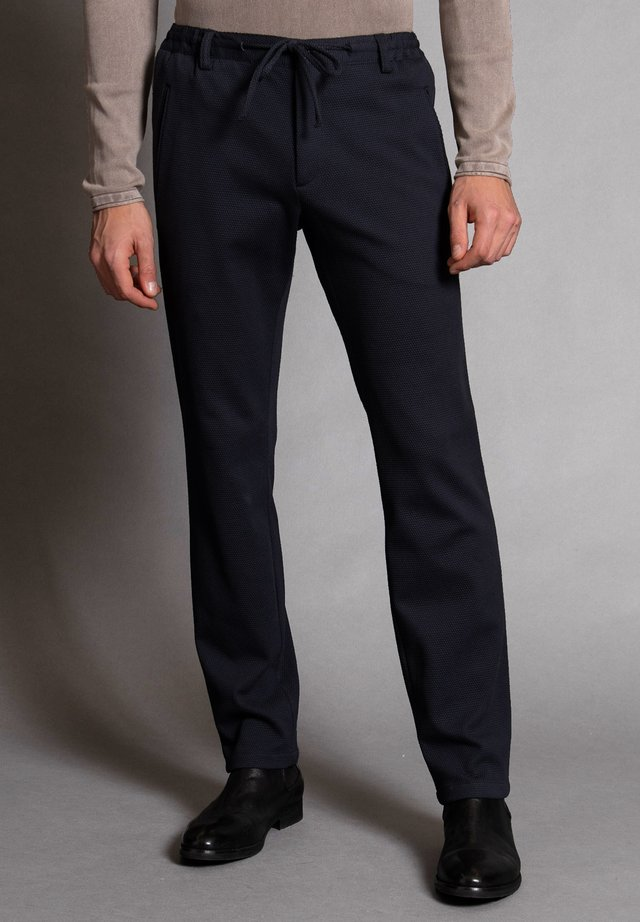 NEW SPARTAKUS - Trousers - marine