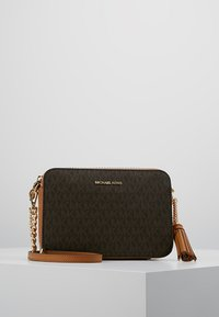MICHAEL Michael Kors - CROSSBODIES CAMERA BAG - Schoudertas - brown - 0
