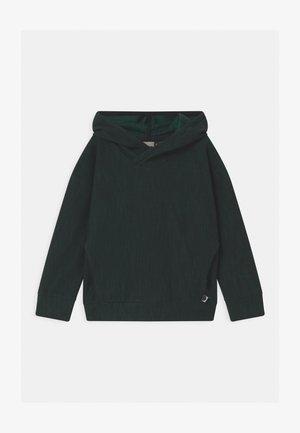UNISEX - Hoodie - black/school green