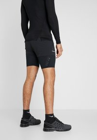 Nike Performance - M NK SHORT 7IN FUTURE FAST - Pantalón corto de deporte - black/dark smoke grey/reflective silver - 2