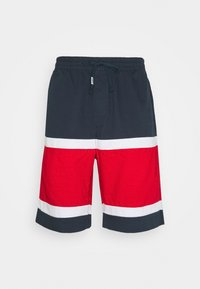 Tommy Jeans - COLORBLOCK BASKETBALL - Shorts - twilight navy/multi - 3