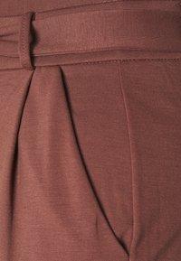 Vero Moda - VMEVA LOOSE PAPERBAG PANT - Bukse - marron - 2
