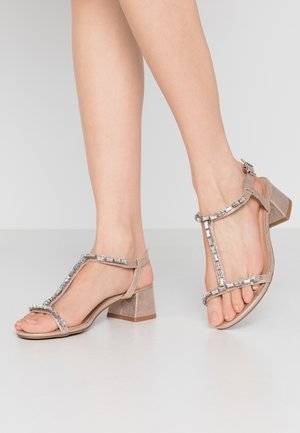 WIDE FIT CHICAGO - Sandals - rose gold