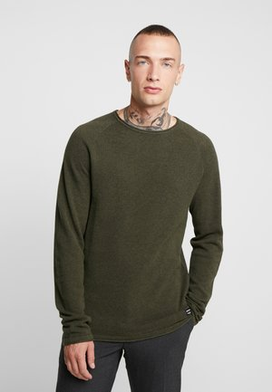 JJEHILL - Jumper - olive night melange
