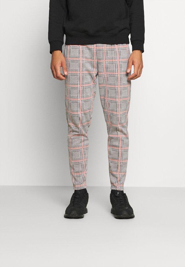 CHECK  - Pantaloni - black
