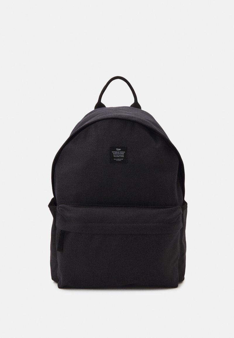TYPO - FUNDAMENTAL BACKPACK - Plecak - washed black