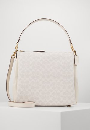 SIGNATURE SHAY SHOULDER BAG - Kabelka - chalk chalk