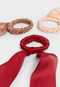 Stradivarius - 3 PACK - Hair styling accessory - red - 4