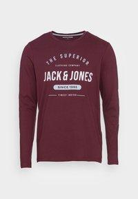 Jack & Jones - JJHERRO TEE CREW NECK - Long sleeved top - port royale - 3