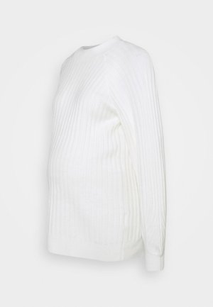 PCMPOLLY LONG - Jumper - bright white