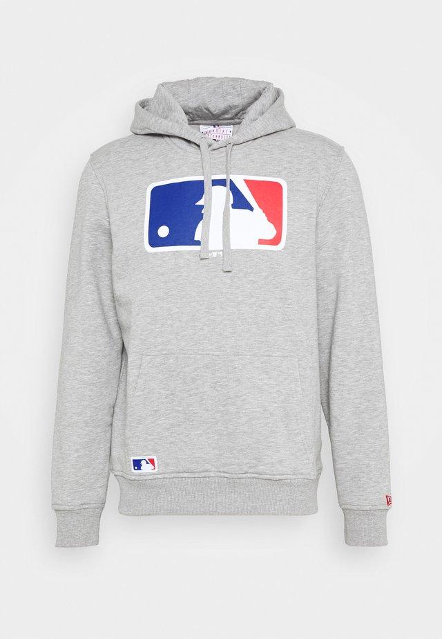 MLB GENERIC LOGO HOODIE - Sweatshirt - grey