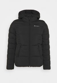 Champion - HOODED JACKET LEGACY - Treningsjakke - black - 5