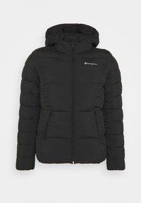 HOODED JACKET LEGACY - Training jacket - black
