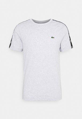T-shirt con stampa - silver chine/black