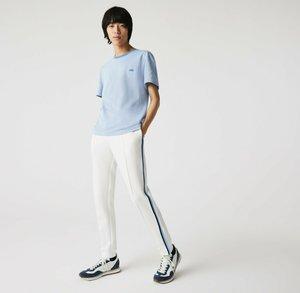 Basic T-shirt - blau / blau / weiß