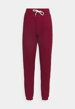 EASY  - Tracksuit bottoms - garnet
