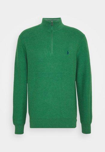 LONG SLEEVE  - Stickad tröja - potomac green heather