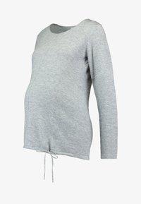 Ripe - DRAW STRING - Stickad tröja - silver - 3