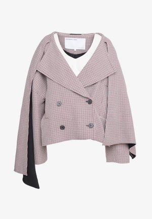DEBRA SHORT COAT - Short coat - check