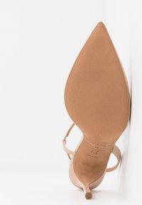 Pura Lopez - Zapatos altos - sabbia - 6