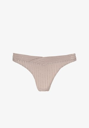 ZIGGY THONG - String - warm taupe