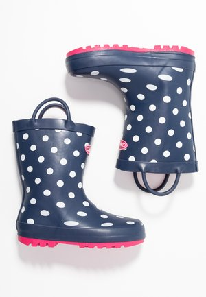 JILL - Wellies - navy/white