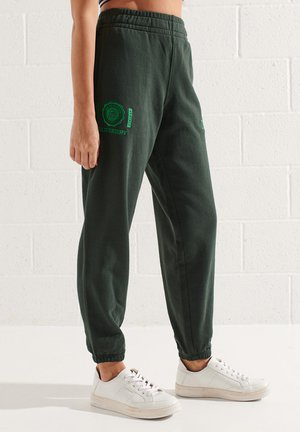 Tracksuit bottoms - academy dark green