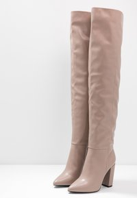 Call it Spring - SLOUCH - Bottes à talons hauts - dark beige - 4