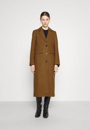 AIRIN COAT - Classic coat - dark camel