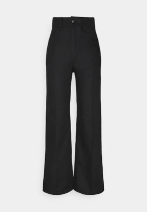 NELLIE TROUSER - Jeans Relaxed Fit - black