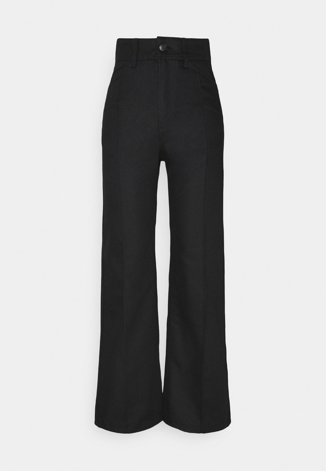 NELLIE TROUSER - Relaxed fit jeans - black