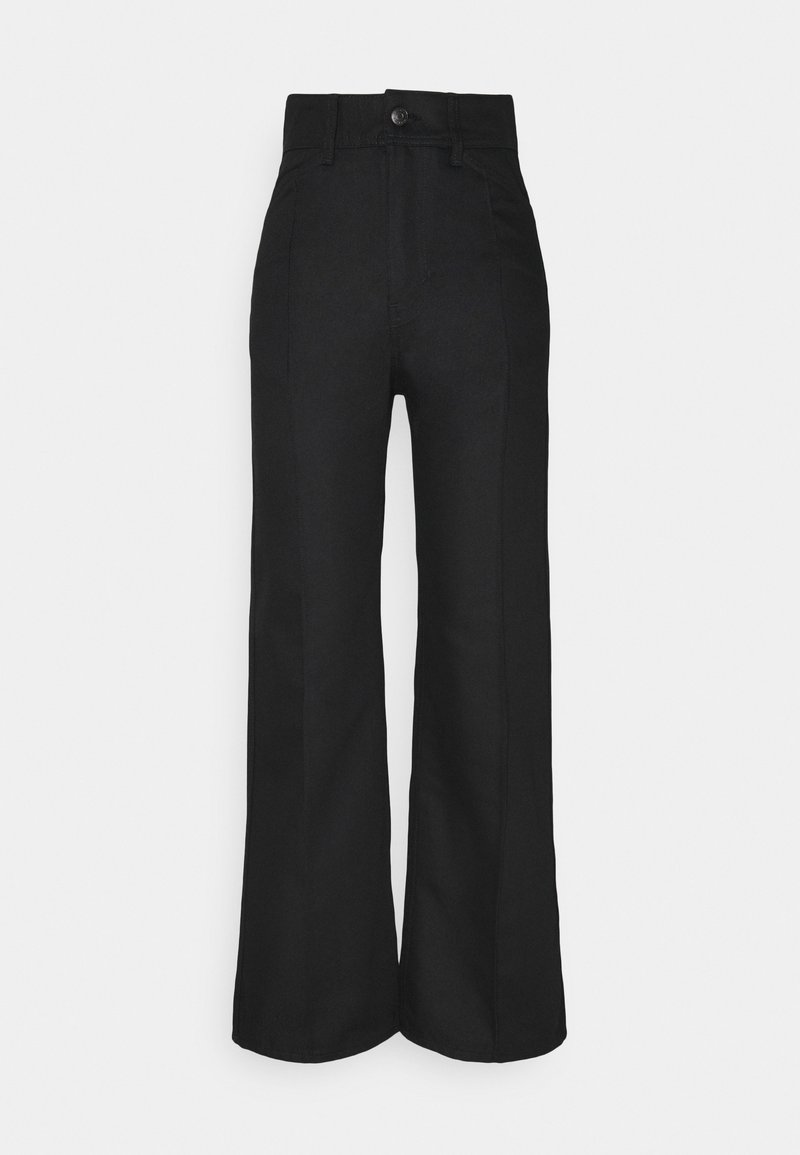 Weekday - NELLIE TROUSER - Relaxed fit jeans - black