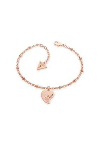 QUEEN OF HEART - Bracciale - rose or