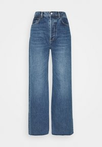 CHARLEY WIDE LEG - Flared Jeans - greed