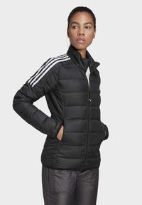 adidas Performance - ESSENTIALS PRIMEGREEN OUTDOOR DOWN - Down jacket - black - 3