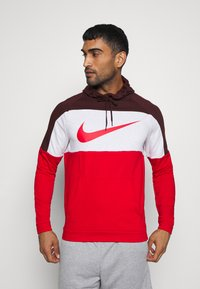 Nike Performance - DRY  - Felpa con cappuccio - mystic dates/university red - 0