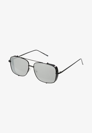 Aurinkolasit - matt black/silver-coloured