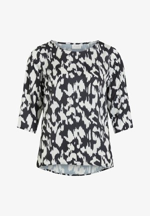 VIKAT 3/4 SLEEVE - Blusa - black 1