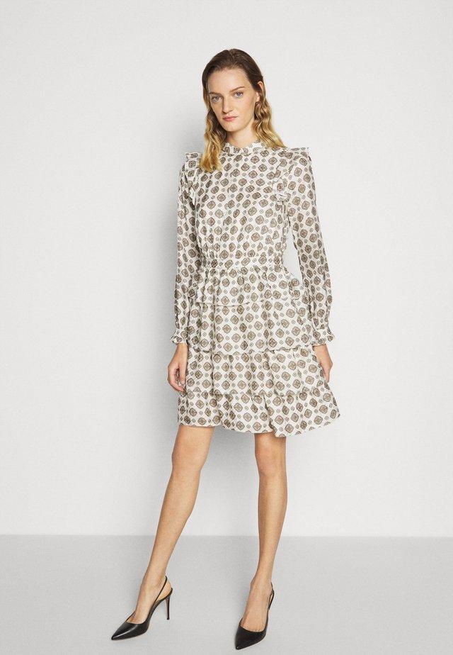 LUX MEDLN PINDOT - Denní šaty - bone