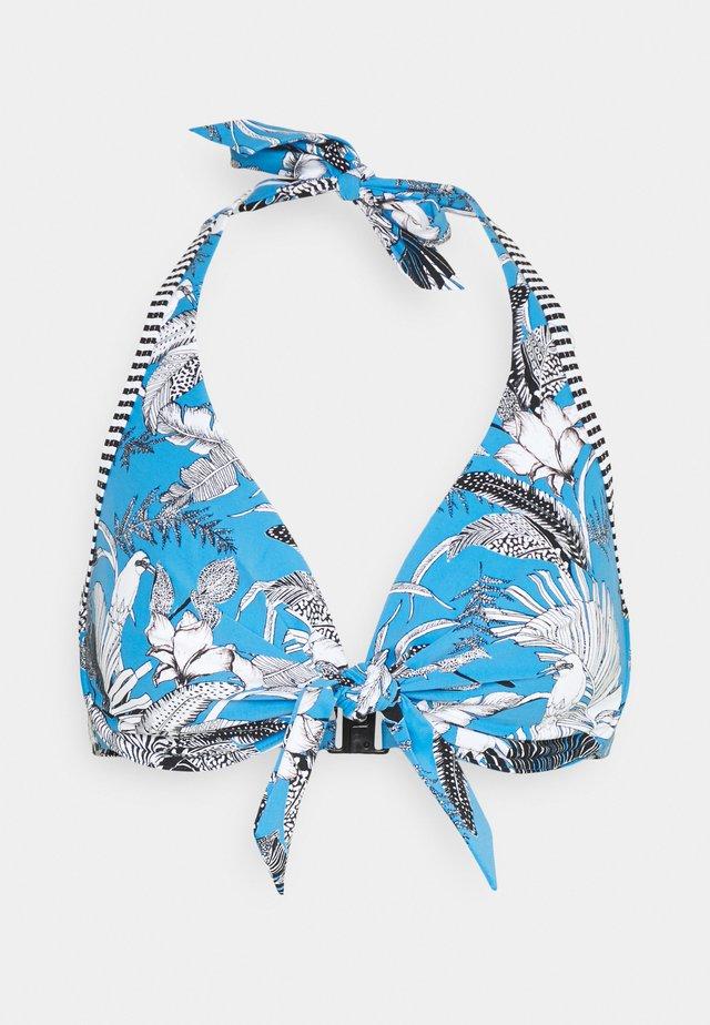 TULUM BEACH - Bikini pezzo sopra - blue