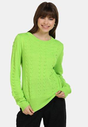 Jersey de punto - neon grün