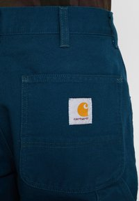 Carhartt WIP - SINGLE KNEE PANT DEARBORN - Jeans Straight Leg - duck blue rinsed - 5