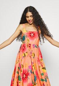 Farm Rio - FLORAL SEA MIDI DRESS - Day dress - multi coloured - 3
