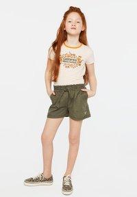 WE Fashion - T-shirt imprimé - orange - 1