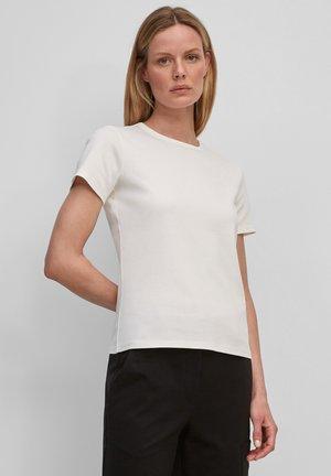 Basic T-shirt - white sand